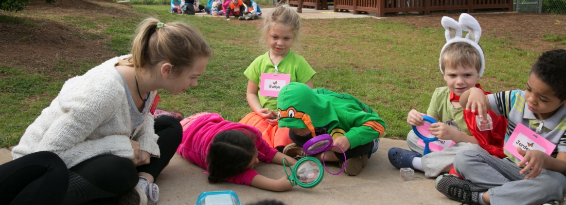 COE students work with Bot garden to develop curriculum for Pre-