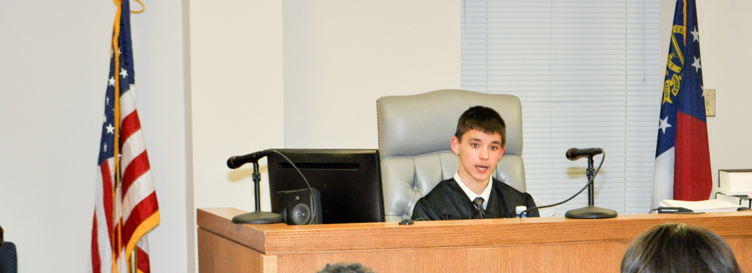 Teen court coordinator about the