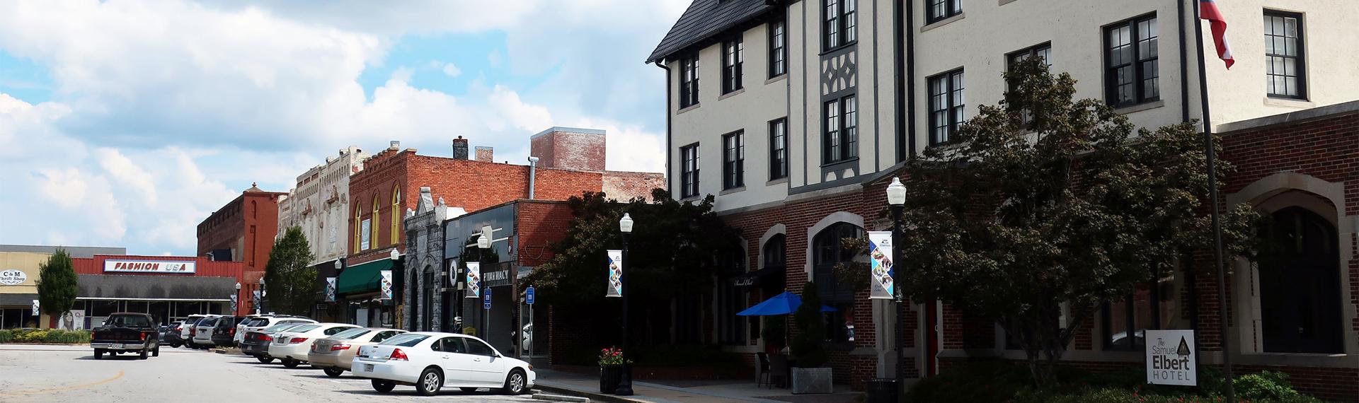 Downtown Elbert, GA