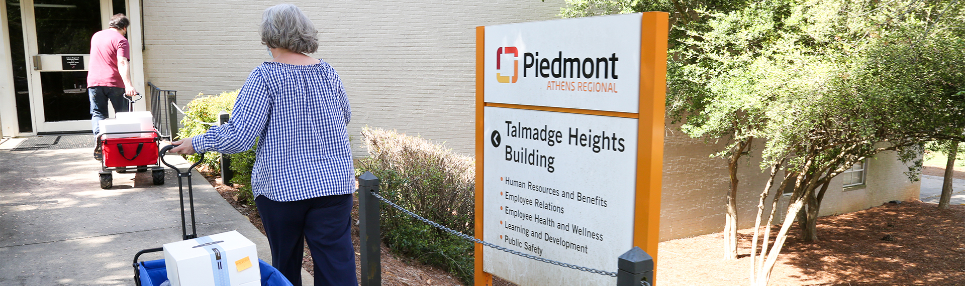 Food delivery to Piedmont Athens Regional