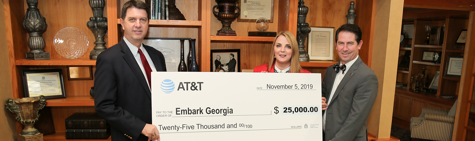 AT&T supports Embark