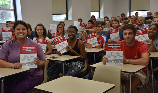 UGA engineering students benefit from leadership training in addition to degrees