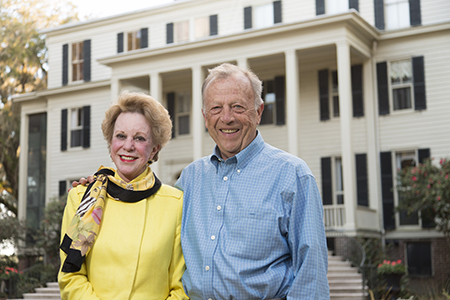 Commitment to historic land preservation and education earns national award for UGA donors