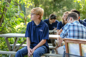 Students from Leadership Hart Youth learn about wide range of skills used in agriculture.