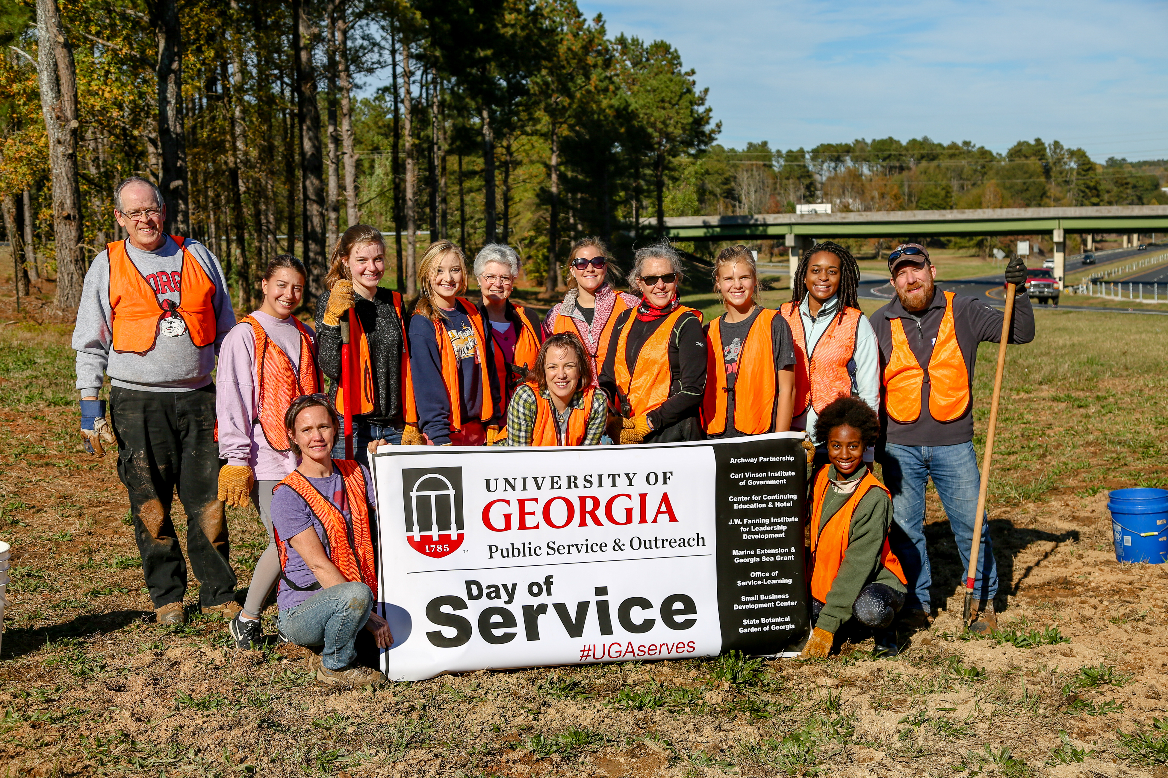Annual Day of Service connects UGA employees to local nonprofits