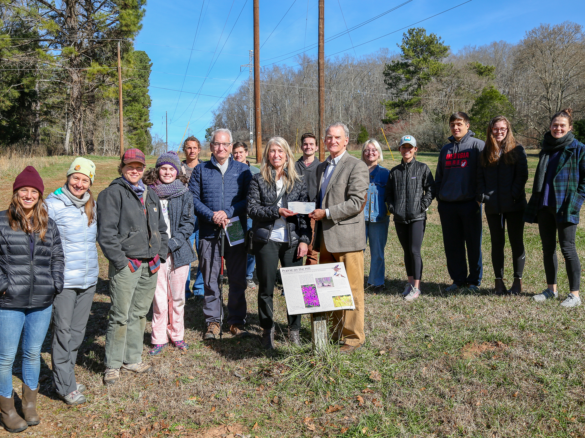 Gift to UGA will boost prairie project at State Botanical Garden