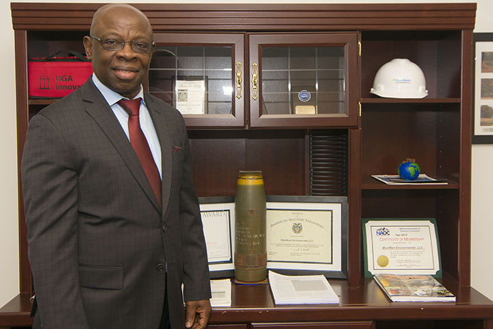 SBDC-assisted company helps clean up explosives