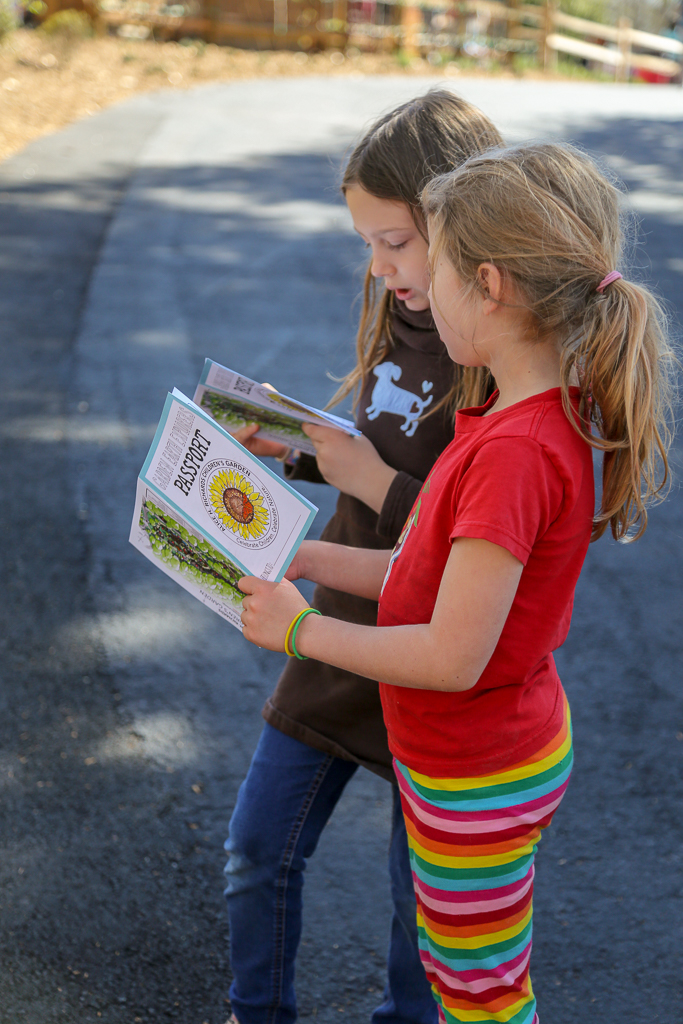 Kids can use our passport to discover fun facts throughout the garden and earn a special token when they complete the book.