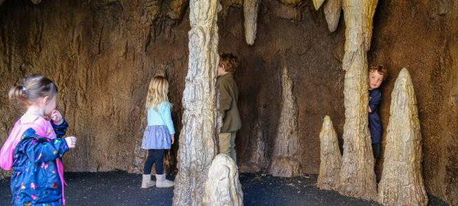 The cave is a replica of Sitton's cave in Georgia.