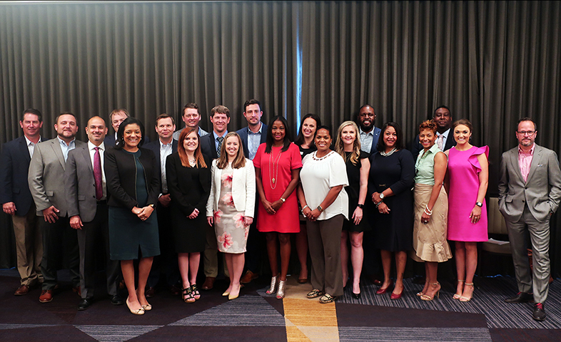 Members of the Georgia Chamber of Commerce completed a leadership program, offered by faculty from the J.W. Fanning Institute for Leadership.