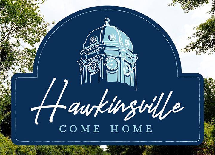 City of Hawkinsville new logo