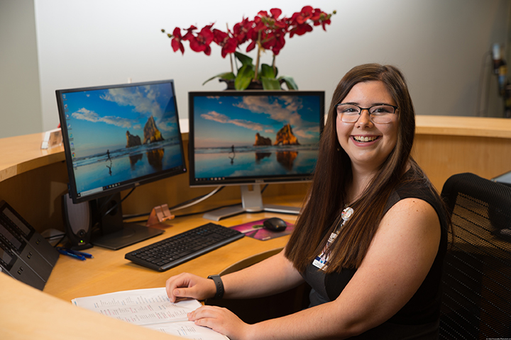 Megan Oglesby served as a summer HR intern with Cherokee County.