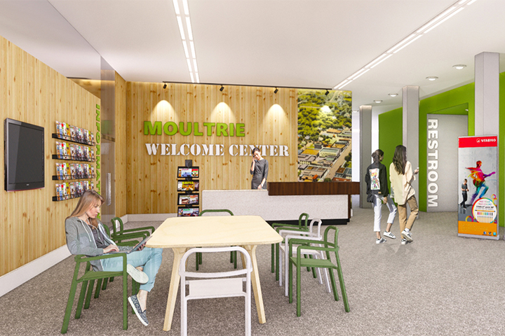 UGA student designs plans for an Archway Partnership community welcome center