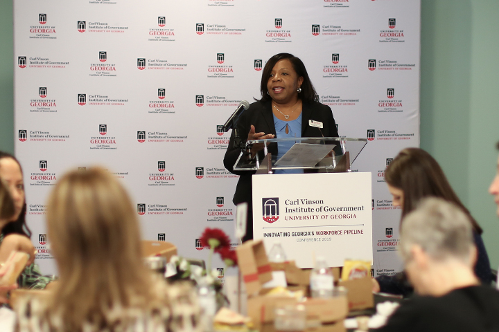 Beverly Johnson from the Carl Vinson Institute of Government