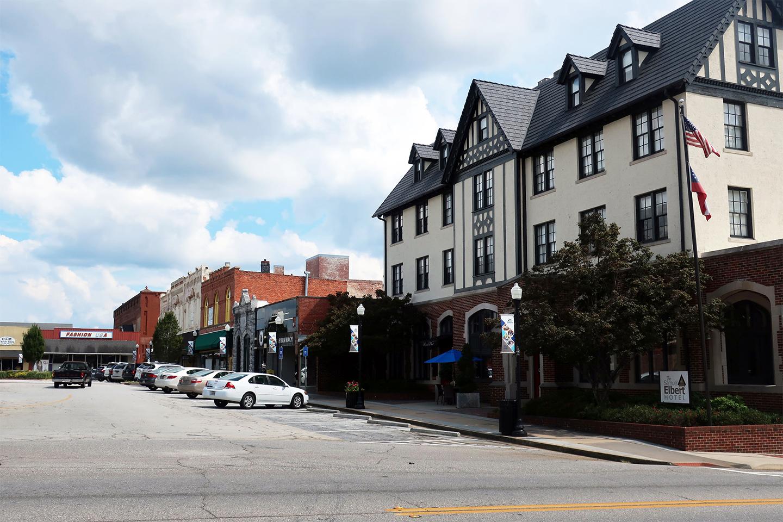 Downtown Elberton, GA