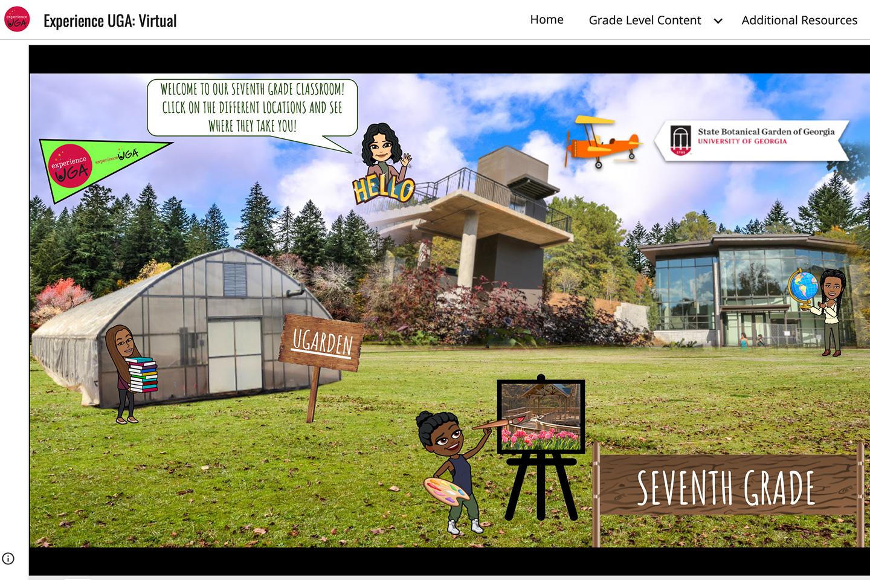 A screenshot showing virtual BItmoji characters