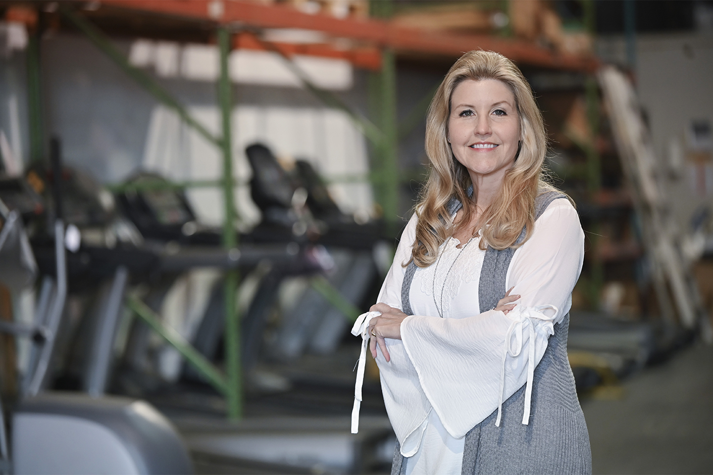 Melissa Conti, owner of Innovative Fitness